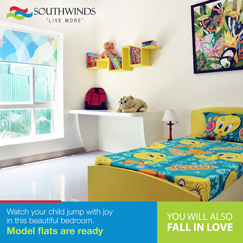 Kids Bedroom Model kids #bedroom #model flats #kolkata call 033 4040 1010