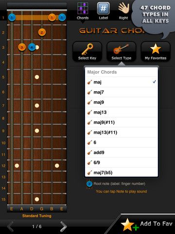 All Guitar Chords Free This Free App Includes Over 3000 Of The