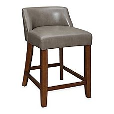 Image Of Landon Low Back Stool Counter Height Stools Stool