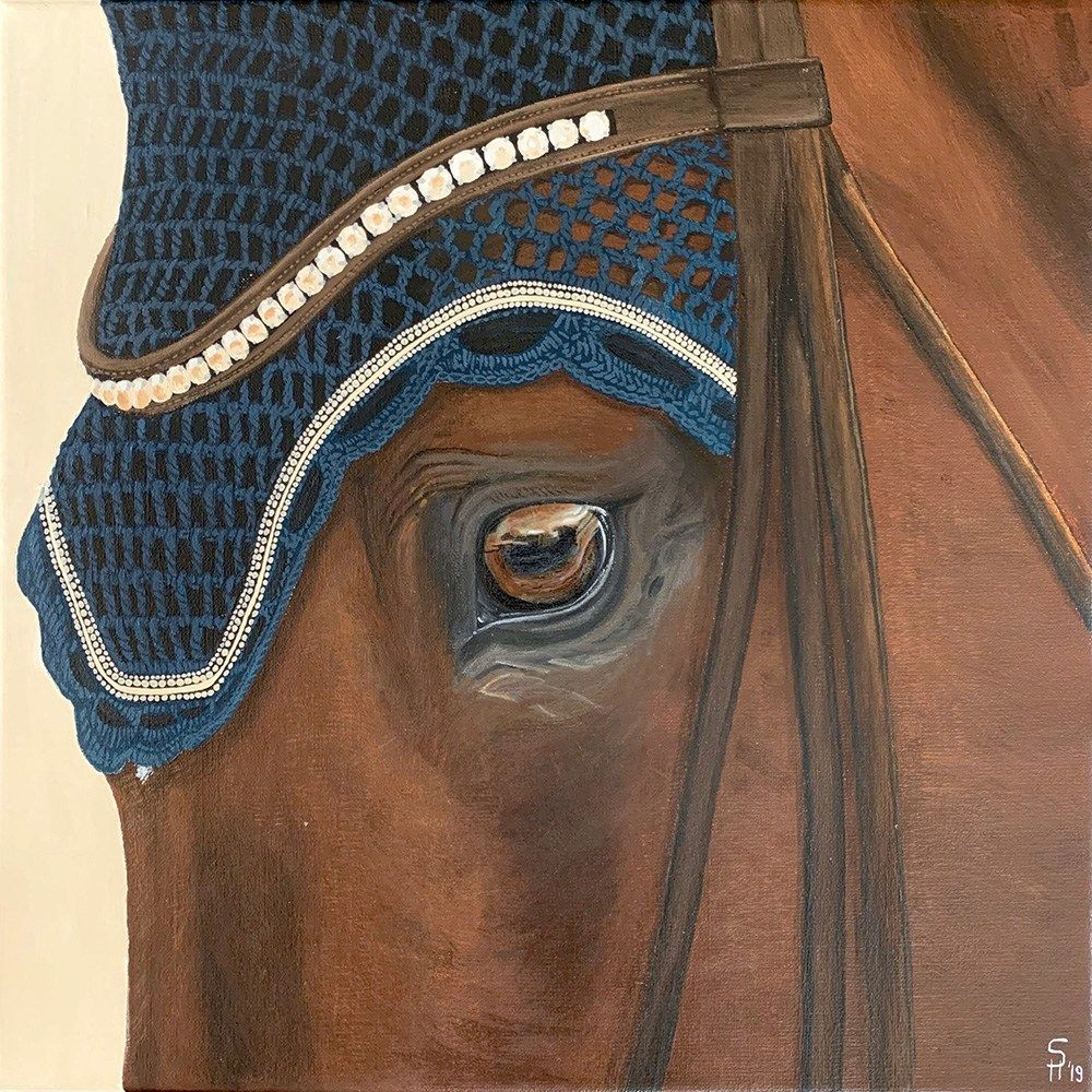 A Closer Look Equine Emotions Art Emotional Art Equines Horse Fashion