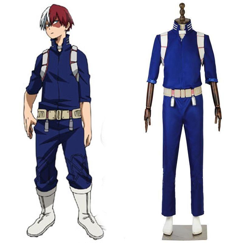 My Hero Academia Shoto Todoroki 2nd Hero Costume Things I