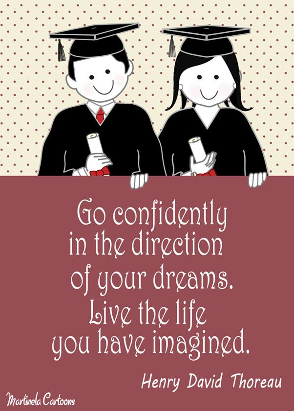 Inspirational graduation quotes by Martinela   conficence   SMART     Inspirational graduation quotes by Martinela   conficence