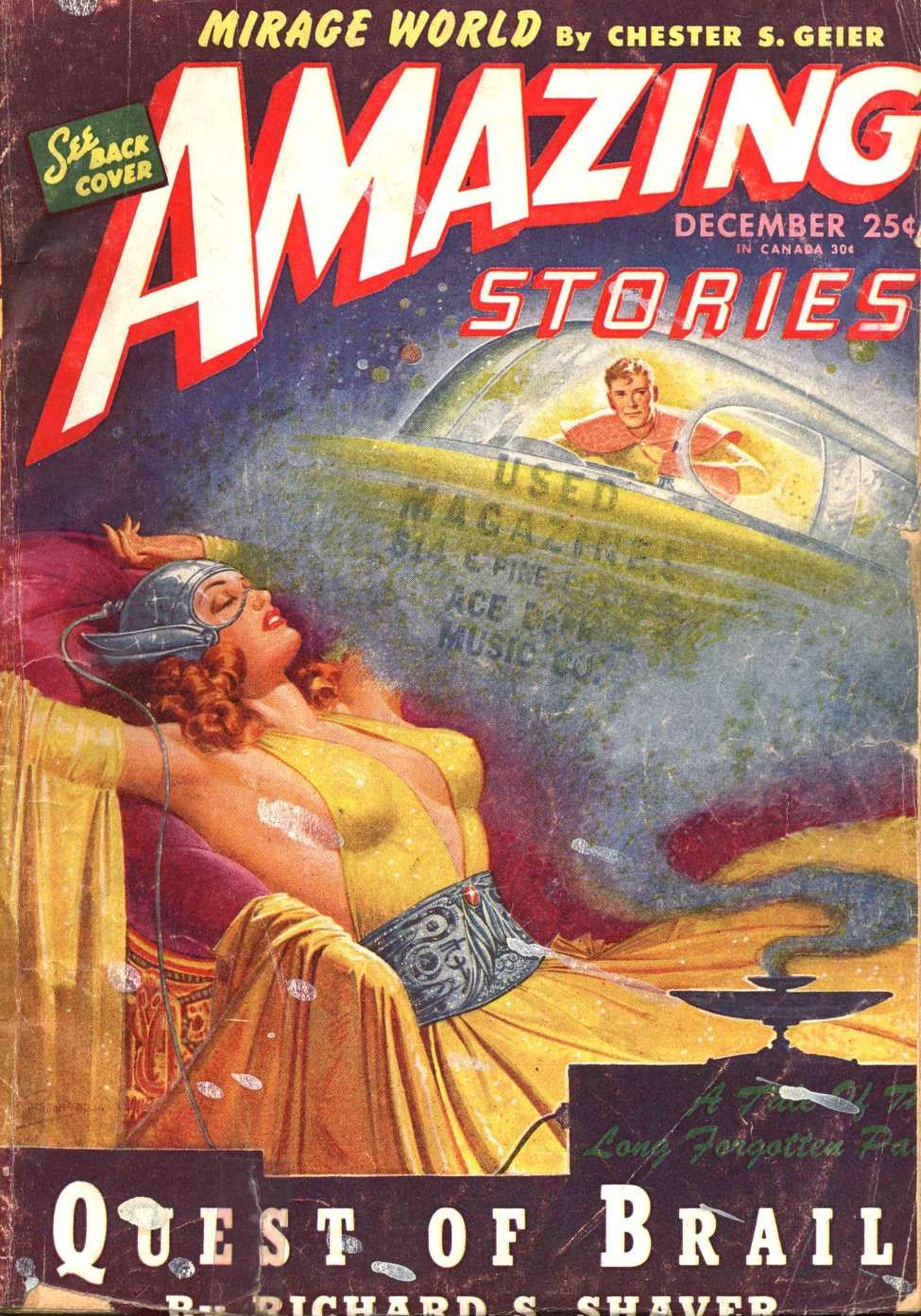 Comic Book Cover For Amazing Stories v19 04