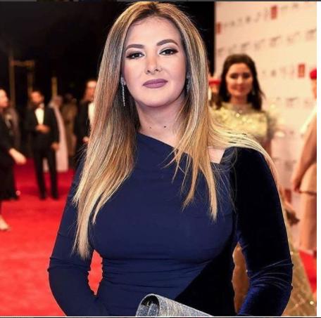 بالصور دنيا سمير غانم بوزن زائد في مهرجان دبي السينمائي Egyptian Actress Red Carpet International Film Festival