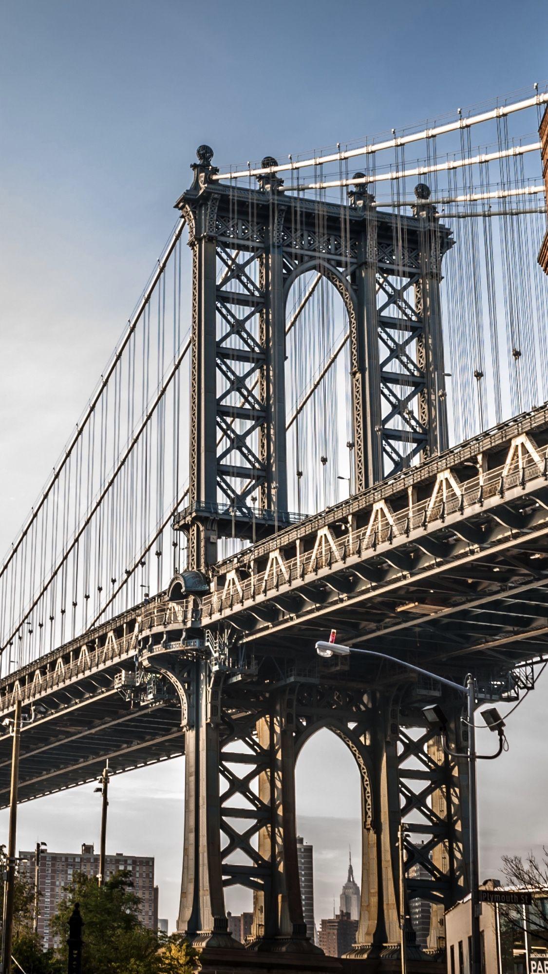 Brooklyn Bridge 🌉 in 2020 Cool wallpaper, Iphone 8