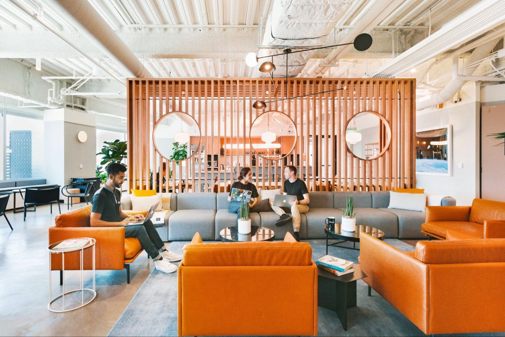 For Flexible Workspace And Vibrant Community In El Segundo Join Wework S Shared Office Space Near Douglas Sta Coworking Space Coworking Coworking Office Space