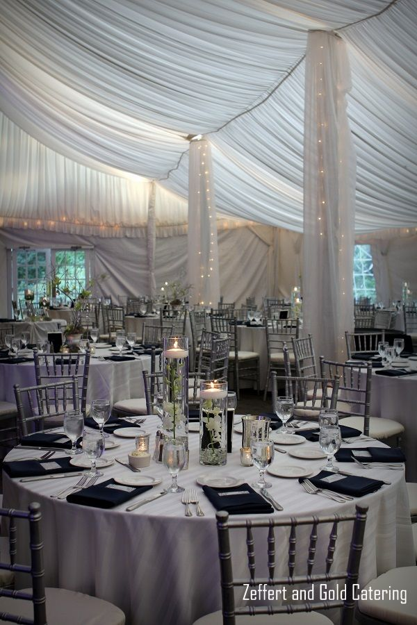 Zeffert And Gold Catering At Evergreen Carriage House Baltimore City Wedding Table Setting