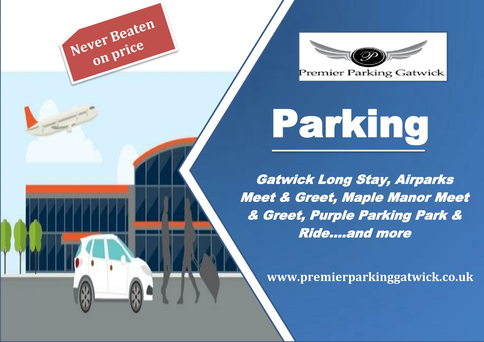 Premier parking gatwick premierparkingg on pinterest m4hsunfo