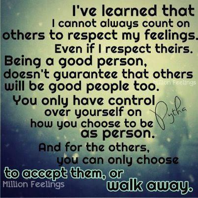 Accept or Walk Away