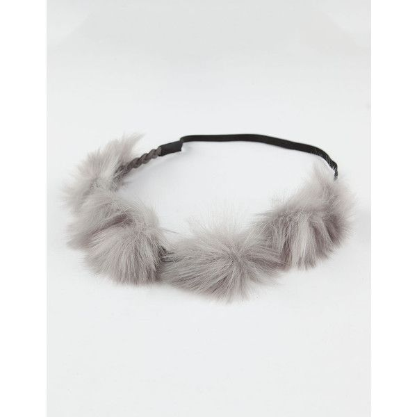 Full Tilt Pom Stretch Headband ($6.99) ❤ liked on Polyvore featuring accessories, hair accessories, stretchy elastic headbands, stretchy headbands, hair band headband, headband hair accessories and head wrap hair accessories