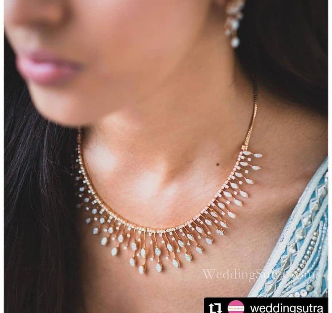 Top Quality Elegant Diamond Necklaces Elegantdiamondnecklaces Wedding Jewellery Necklace Diamond Necklace Designs Diamond Necklace Simple