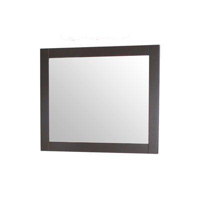 Gallery For Website allen roth SHWM E x Sarasota Espresso Rectangular Bath Mirror
