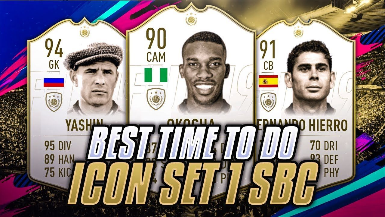WHEN TO DO PRME ICON SBC! SET 1 Icon set, Video team