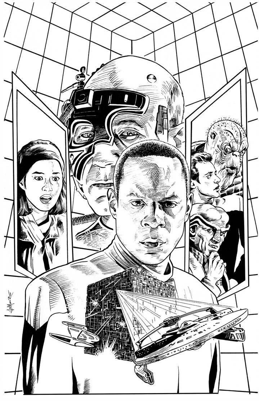 Star Trek Deep Space Nine 6 By Jerome K Moore On Deviantart Star Trek Art Star Trek Star Trek Characters