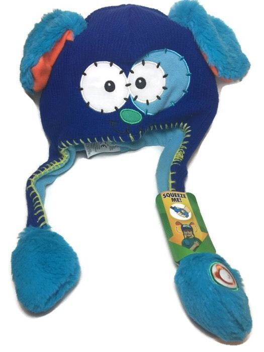 e65d46bc Flipeez Blue Playful Puppy Boys Or Girls Ear Flipping Winter Hat NWT So  Cute!!!! #Flipeez