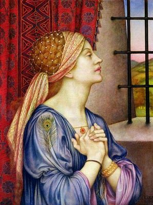 evelyn de morgan | Pre Raphaelite Art: Evelyn De Morgan - The Prisoner, 1907-08