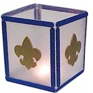 Boy Scout Lantern Craft #cubscouts