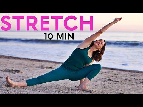 morning yoga at the beach 10 minute stretch  youtube