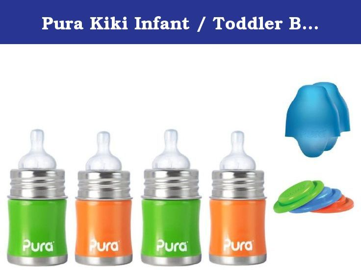 Pura Kiki Infant Toddler Bottle Stainless Steel