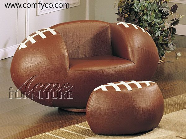I Saw This Football Chair And Thought That Its Something Would Get Y