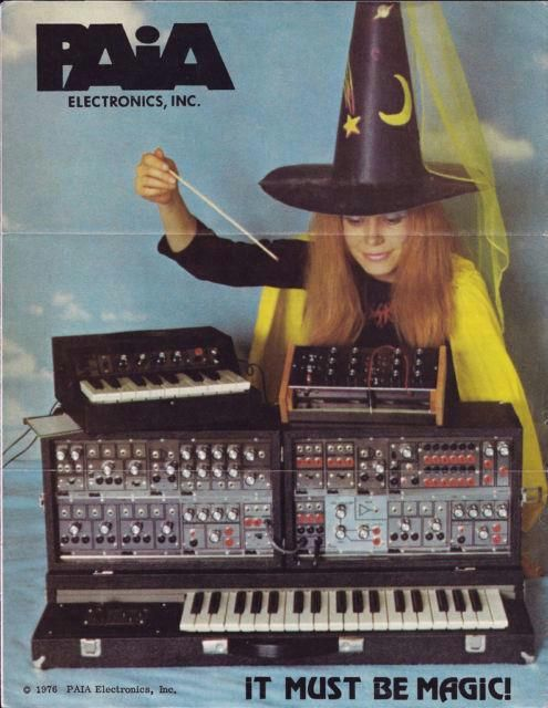 70's synth ad