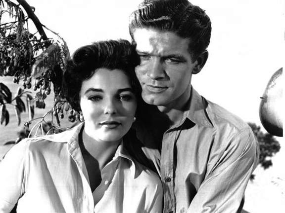 joan collins and stephen boyd island in the sun 1957. Black Bedroom Furniture Sets. Home Design Ideas