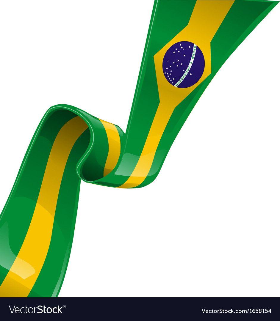 Brazil Ribbon Flag Royalty Free Vector Image Vectorstock Ad Flag Royalty Brazil Ribbon Ad Brazil Flag Ribbon Flag Brazil