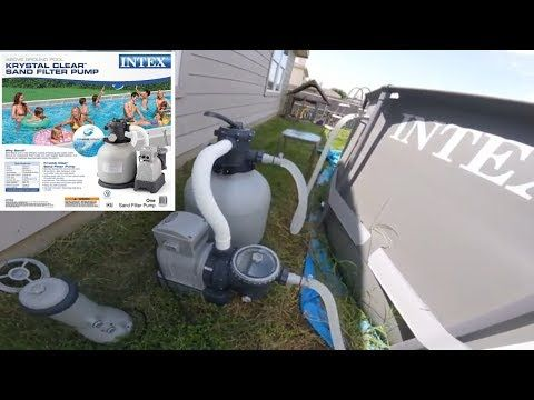 Summer Waves Elite Pool Upgrade Conversion To Intex Sand Filter W Direct Vacuum Line Attachment Pt 2 Youtube Pool Sand Easy Set Pools Stock Tank Pool