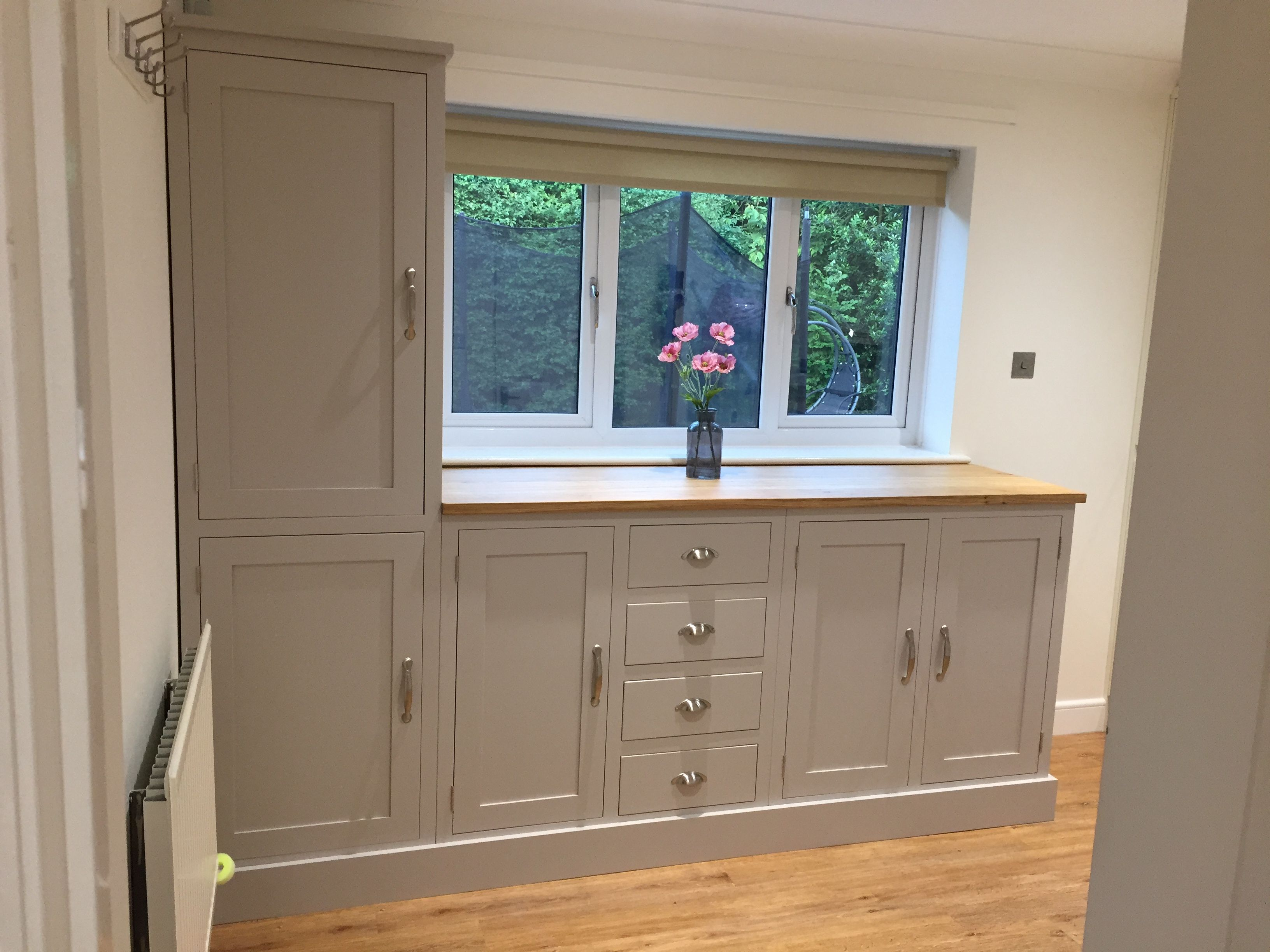 Utility Room Unit Designed By The Customer And Made By