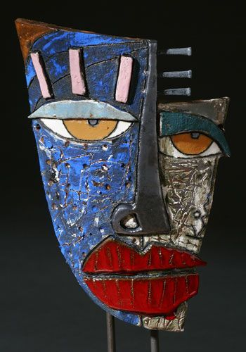 Kimmy Cantrell Masks : kimmy, cantrell, masks, Lecture, Message, Orange, Kimmy, Cantrell,, Pottery, Ceramic
