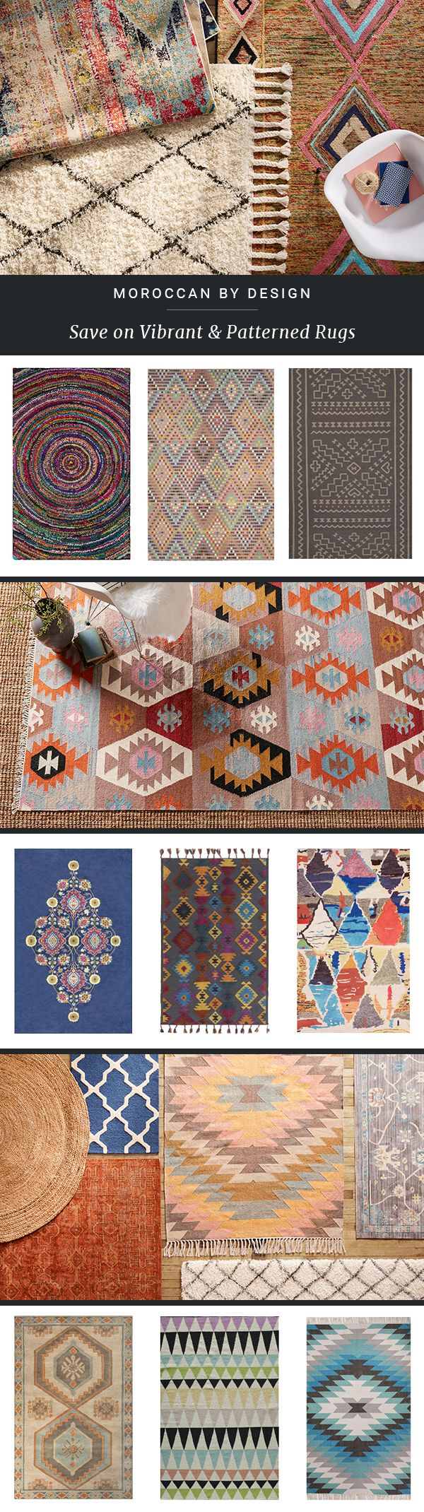 Style starts from the bottom upuenliven any space with chic rugs at