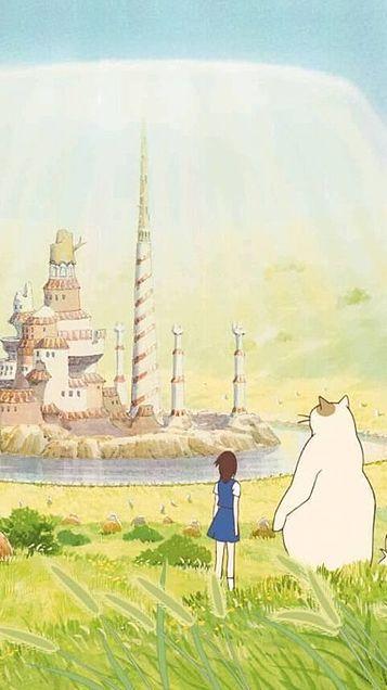 猫の恩返し 猫の恩返し アニメ 背景 スタジオジブリ