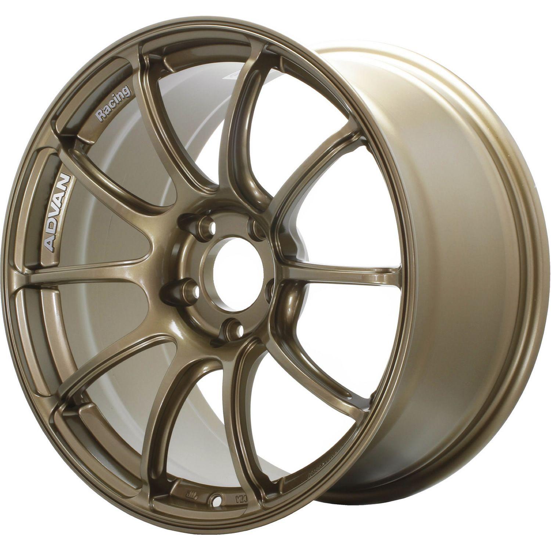 Advan Racing Rzii 18x10 5 15 Bronze Yaz8l15ea Fitment Industries Bronze Wheels Wheel Wheel Rims