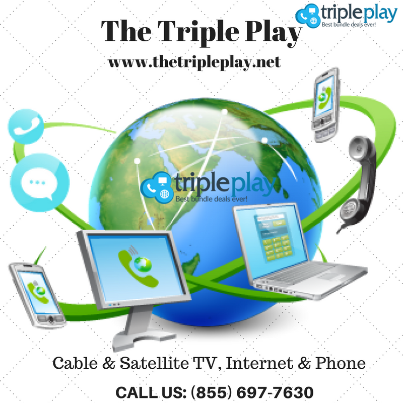 Find How Triple Play Deals Can Save Your Time And Money