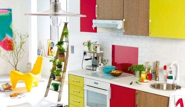 Relooker une cuisine, matériaux pas chers  peinture, carrelage