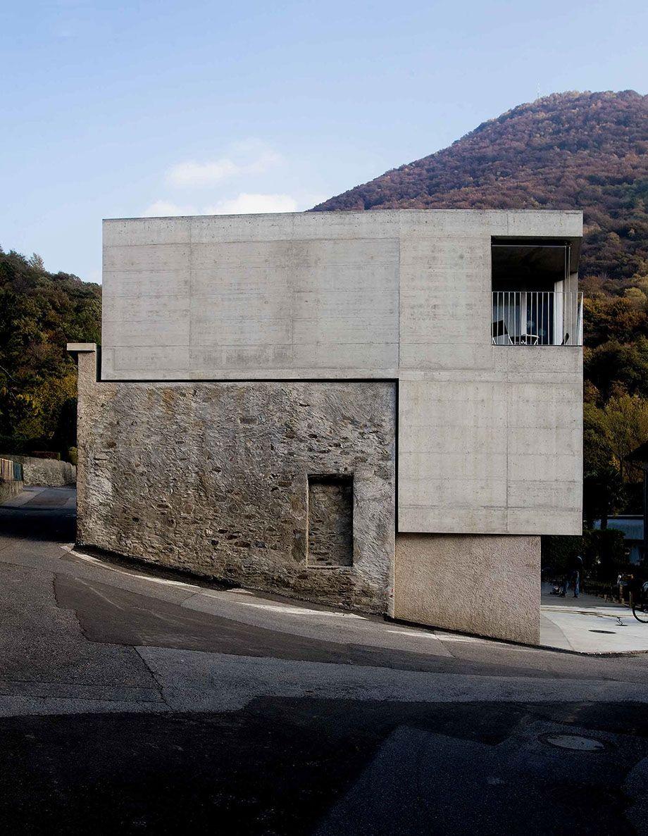 Foto francesco gilardi facade architettura for Architettura casa moderna