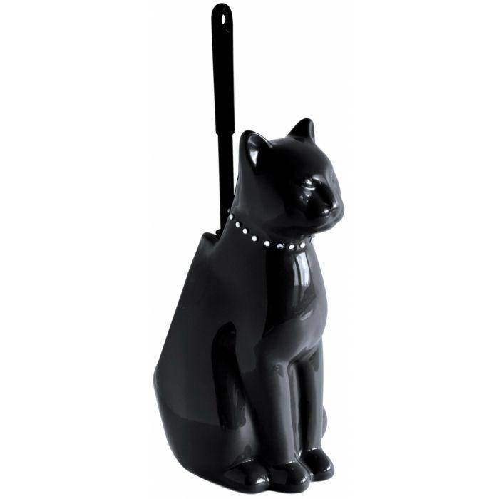 Brosse Toilette Noire brosse wc chat noir | toilettes | pinterest | wc design