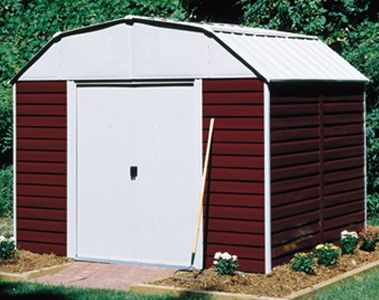 Arrow Red Barn 10x8 Storage Shed Shed Shed Storage Outdoor Storage Sheds