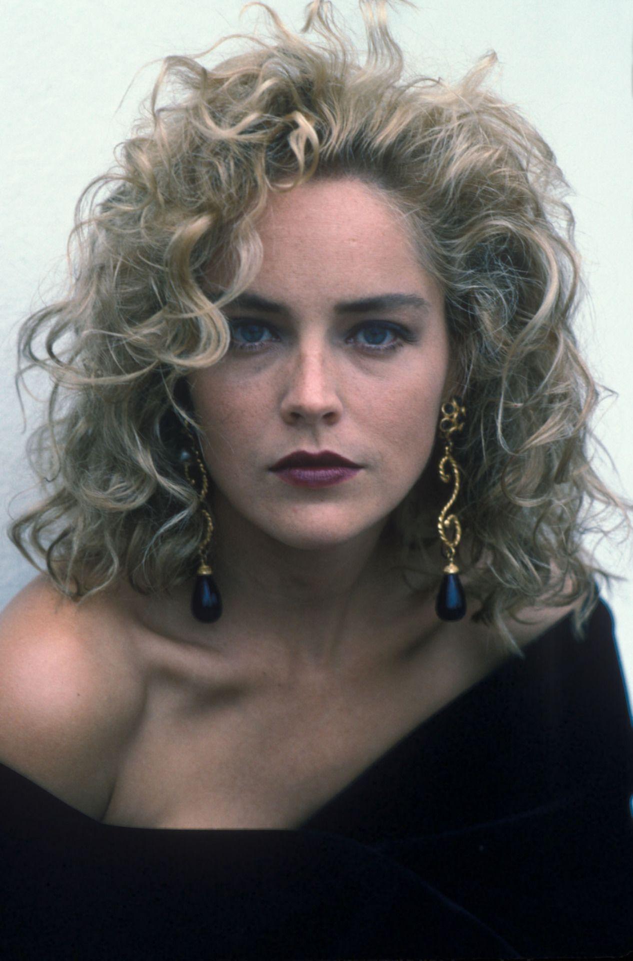 Sharon Stone Por Rob Brown 1991 Los 90