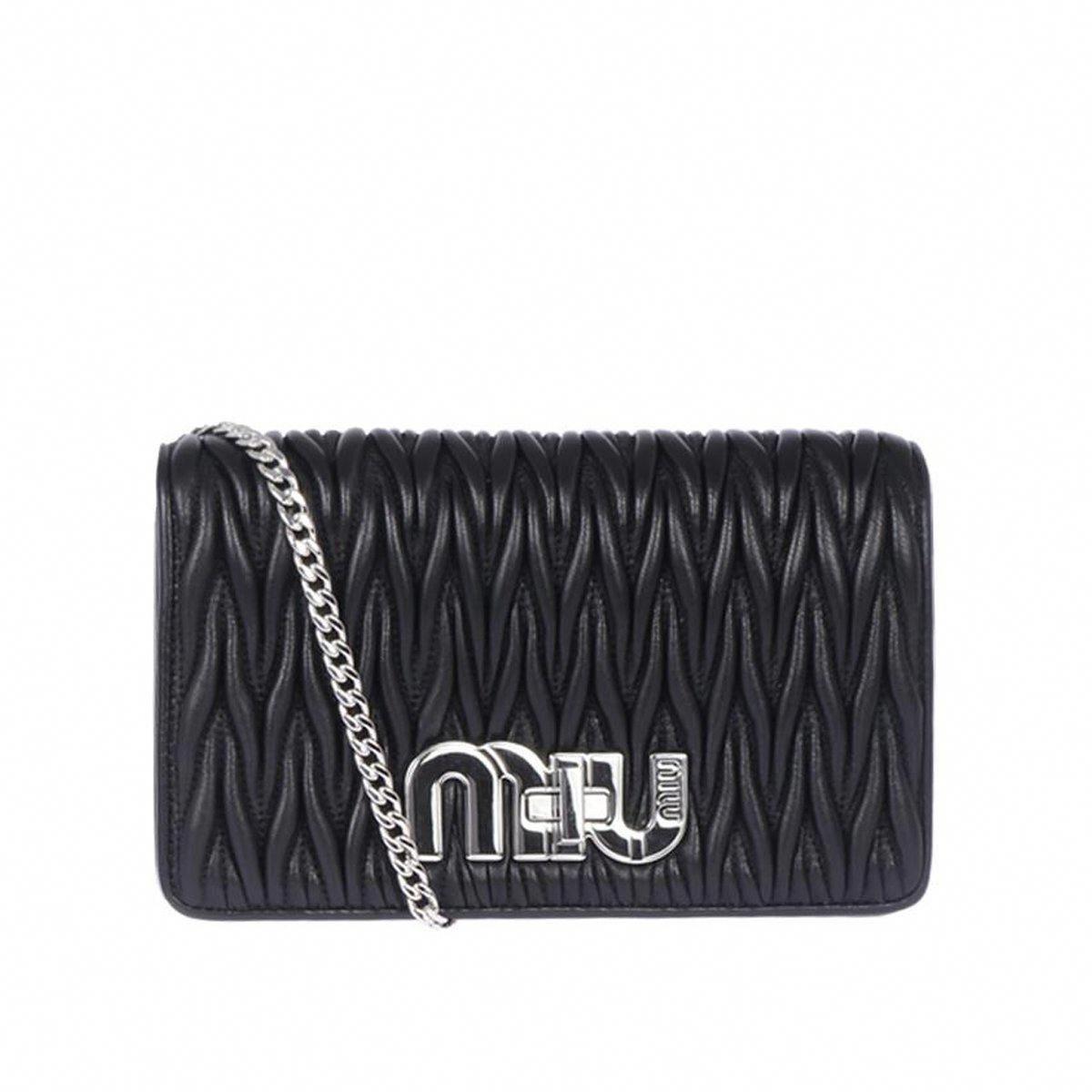 172948786a Miu Miu Prada Women s Black Tessuto Nylon Crossbody 5BF069  Prada  Fashion   QueenBee