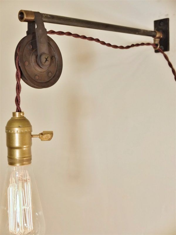 Wall Hanging Lamps wall-mount-kitchen-light-fixtures-using-vintage-edison-bulb-lamps