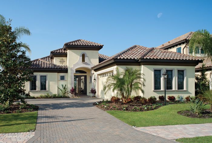 Florida luxury custom home design plan bardmoor 1172 for Custom home plans florida