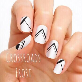 color street  crossroads frost  line nail designs line
