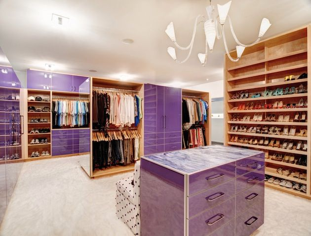 High Gloss Finishes And Color Choices Can Make A Space Really POP. California  Closets DFW