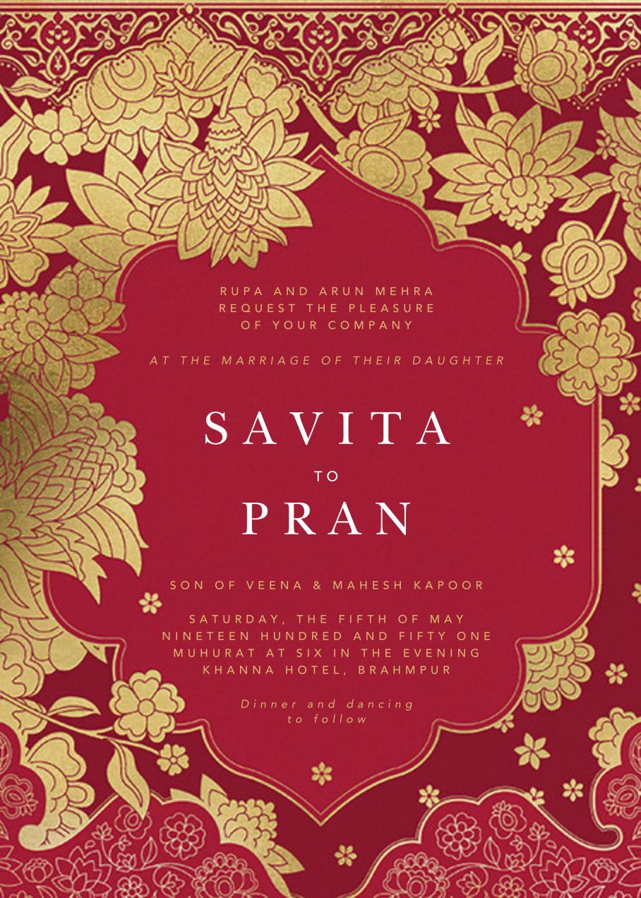 A Lifetime Awaits Browse Online Indian Wedding Invitations At Paperles Indian Wedding Invitation Cards Digital Wedding Invitations Digital Invitations Wedding