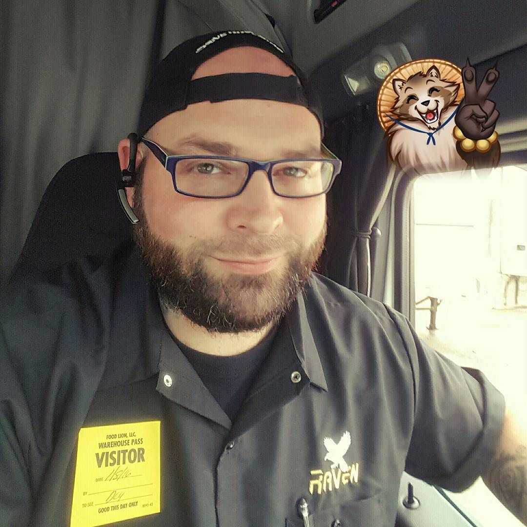 Beardgrowth truckinglife trucking beard sexyguy by bearded samurai