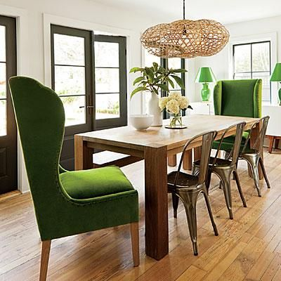 Inviting Dining Room Ideas is part of Farmhouse dining rooms decor - Get design inspiration and decorating ideas to makeover your dining room for every day, entertaining and holidays