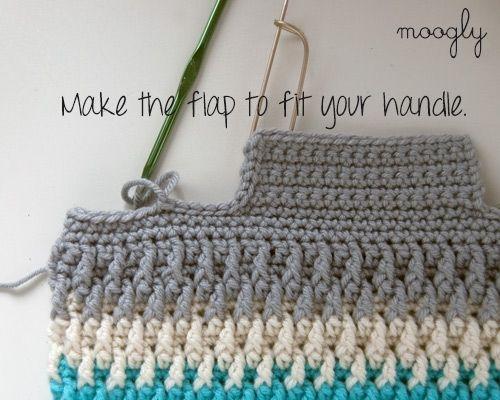 Crochet Bags Patterns Free Pattern Chroma Crochet Bag Free Crochet