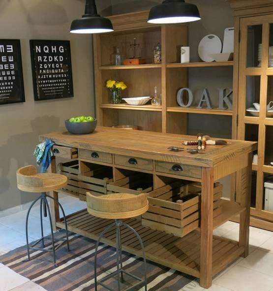 Oak co muebles a tu medida mesa verdulera for Muebles a tu medida