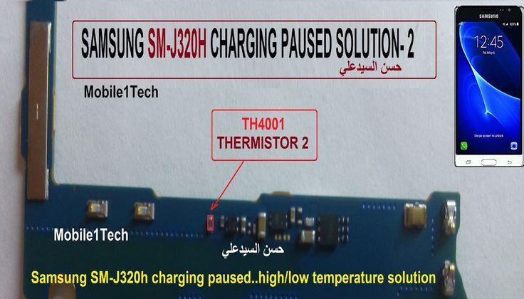J320h Thermistor Pausa Carga Celulares